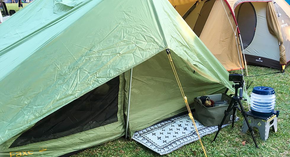 キャンプビト「Camp Freaker Vo.2  Sさん 」のテントやギアをご紹介