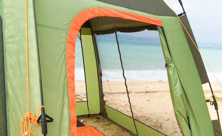夏のファミリーキャンプは大変?暑さ対策のポイント5つと涼しい100均グッズ