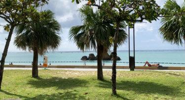アラハビーチ(安良波公園)を満喫したい!BBQやビーチ施設・カフェや駐車場をご紹介