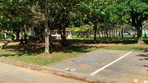 沖縄県総合運動公園 キャンプ場 予約見取り図 区画 10