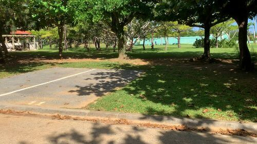 沖縄県総合運動公園 キャンプ場 予約見取り図 区画11