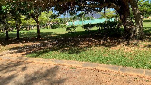 沖縄県総合運動公園 キャンプ場 予約見取り図 区画13