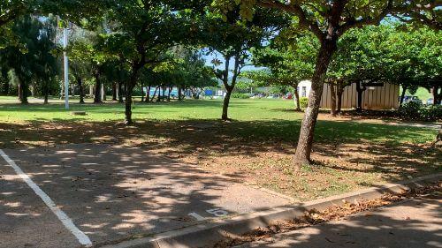沖縄県総合運動公園 キャンプ場 予約見取り図 区画15