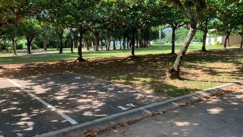 沖縄県総合運動公園 キャンプ場 予約見取り図 区画17