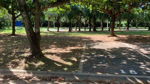 沖縄県総合運動公園 キャンプ場 予約見取り図 区画18