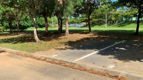 沖縄県総合運動公園 キャンプ場 予約見取り図 区画2