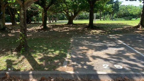 沖縄県総合運動公園 キャンプ場 予約見取り図 区画25