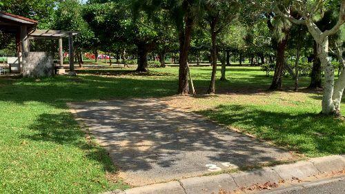 沖縄県総合運動公園 キャンプ場 予約見取り図 区画35