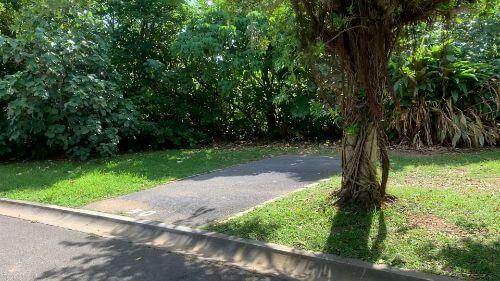 沖縄県総合運動公園 キャンプ場 予約見取り図 区画50