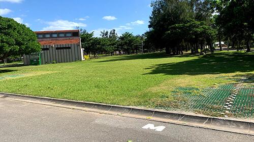 沖縄県総合運動公園 キャンプ場 予約見取り図 区画M
